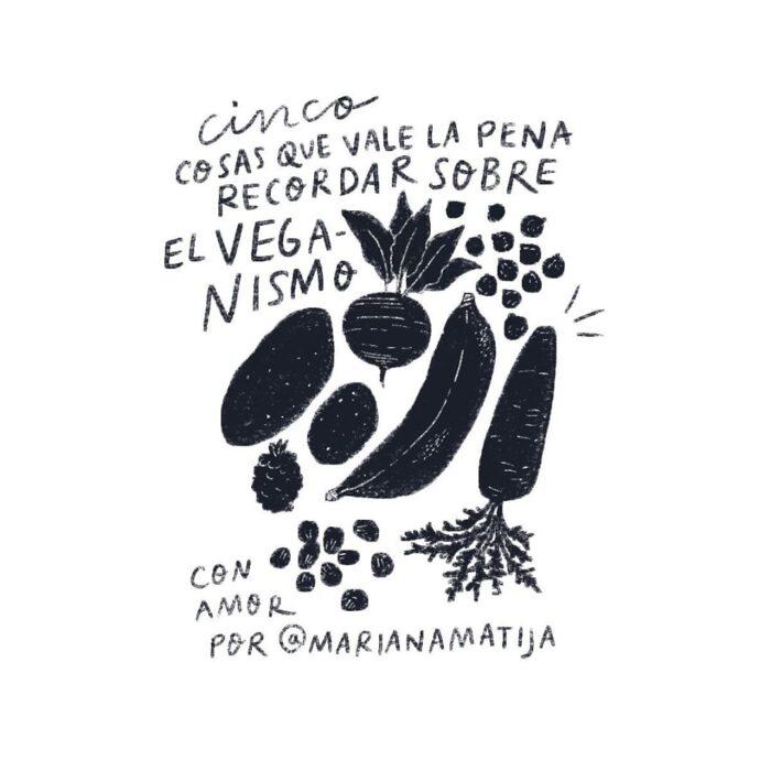 5 cosas sobre veganismo
