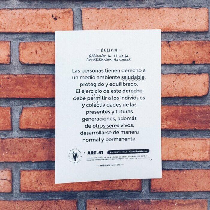 Ambiente sano - Bolivia