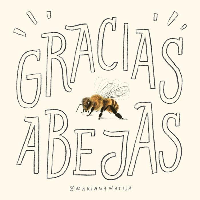 Gracias, abejas
