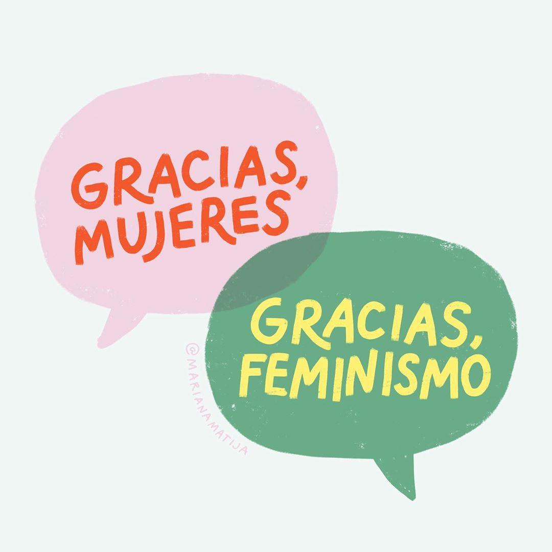 Gracias, mujeres