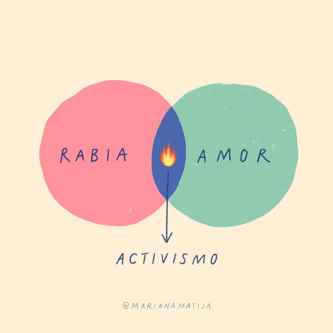 Rabia + amor