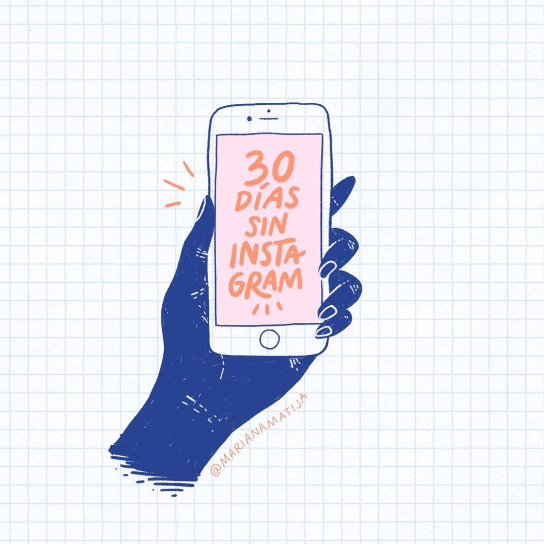 30 días sin Instagram