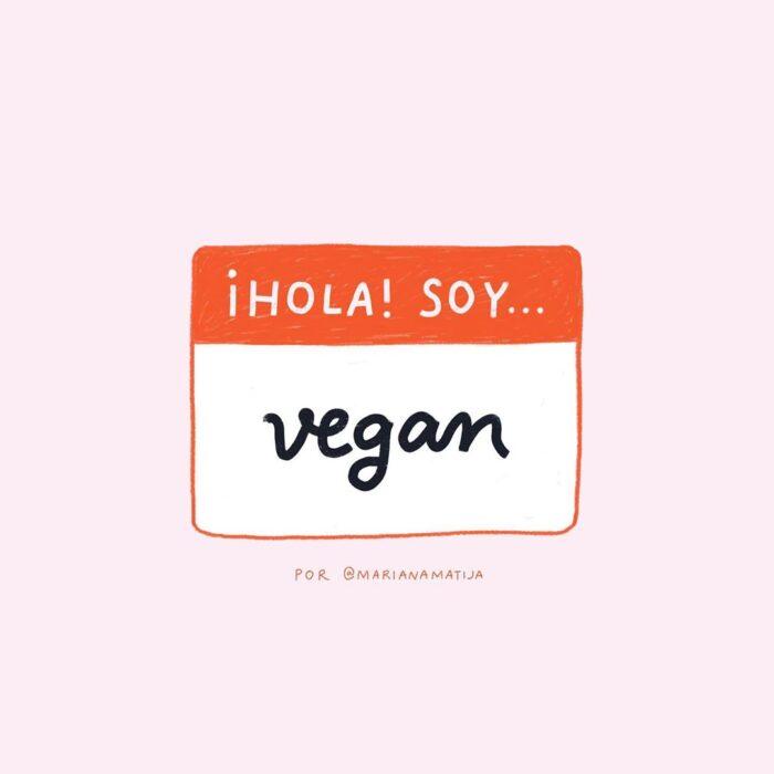 Hola, soy vegan